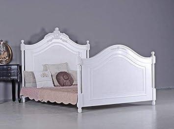 Französisches Ehebett Antik Doppelbett Vintage Bett Shabby Chic