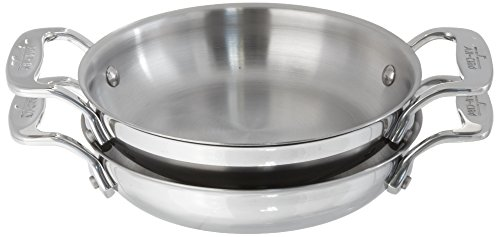 - All-Clad E849B264 Stainless Steel Gratins, Silver, Set of Two