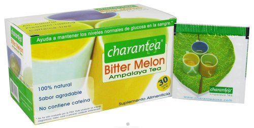 Ampalaya Tea Charantea - Charantea tea, bitter melon, diabetes, 30 bag (2 pack)