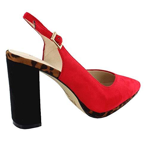 Menbur Menbur Zapatos Fiesta Fiesta Rojo Fiesta Rojo 09707 Zapatos Rojo Menbur Zapatos Zapatos 09707 09707 qtwEUnA