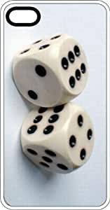 Yahtzee Dice White Plastic Case for Apple iPhone 4 or iPhone 4s