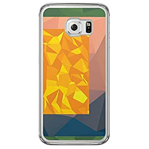 Loud Universe Samsung Galaxy S6 Edge Geometrical Printing Files A Geo 39 Printed Transparent Edge Case - Multi Color