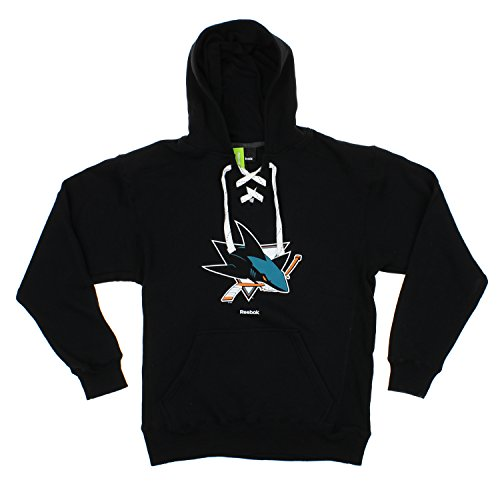 fan products of NHL Men's Primary Jersey Pullover Hoodie, San Jose Sharks