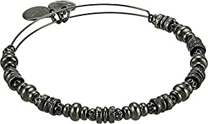 Alex and Ani Women's Spellbound Bangle Midnight Silver One Size
