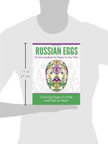 Amazon.com: Russian Eggs: A Coloring Book for Easter or Any Time ...