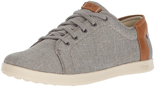 Chaco Women's Ionia Lace Up Shoe, Gray, 8.5 M US ()