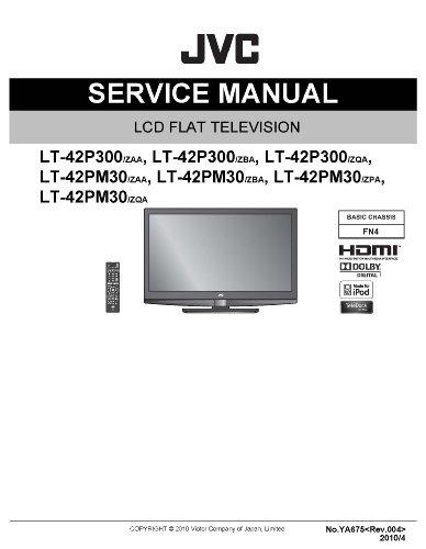 JVC LT-42PM30 service manual