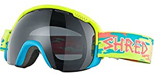 Shred Smartefy Crunchy Dark Lens Goggles, Yellow