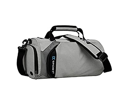5f9a26d6f5 Image Unavailable. Image not available for. Color: OVIIVO Fashion Outdoor  Large Capacity Gym Bag Sports Holdall Travel Weekender Duffel Bag for Men  and