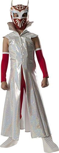 [Rubies WWE Deluxe Sin Cara Costume, Child Medium] (Wwe Girl Costumes)