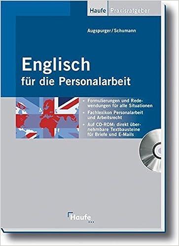 Englisch Für Die Personalarbeit Vom Vorstellungsgespräch Bis Zur