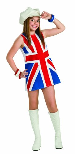 Rubie's British Invasion Costume, Child's Small -
