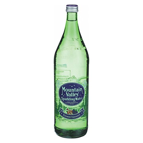 Mountain Valley Spring Sparkling Water Glass Blackberry Pomegranate, 1 Ounce