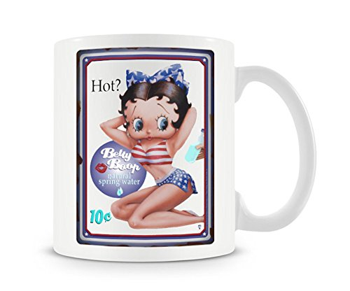 Betty Boop Mug Hot Official (Betty Boop Top Hat)