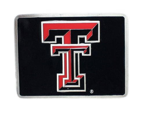 Texas Tech Red Raiders College Trailer Hitch Cover (Texas Tech Raiders Trailer Red)