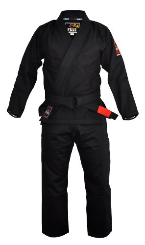 Fuji Summerweight BJJ Uniform, Black, A2