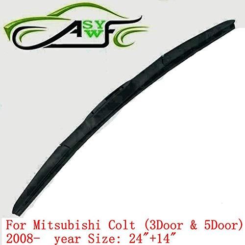 (Wipers car wiper blade For Mitsubishi Colt (3Door & 5Door) (2008 onwards) 24