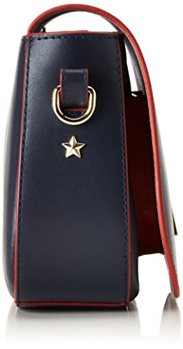 3f9fd32609 ... Tommy Hilfiger Th Twist Saddle Bag Leather Corperate - Borse a tracolla  Donna, ...