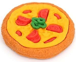 Goma de borrar en forma de pizza de Iwako, producto de Japón