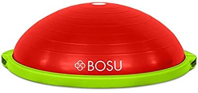 Bosu Balance Trainer, 65cm The Original - Red/Lime Green