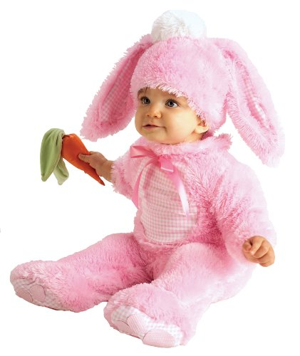 Baby Bunny Costumes (Rubie's Costume Baby Precious Wabbit, Pink, 6-12 Months)