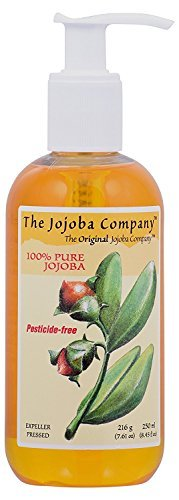 Hobacare – 100% Pure Jojoba Oil for Skin, Scalp and Hair - 8.45oz (packaging may vary)