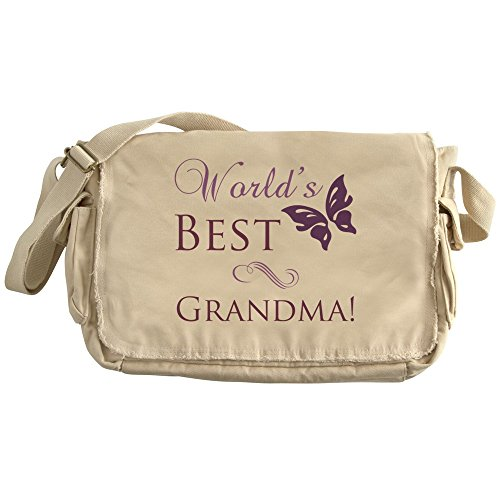 Price comparison product image CafePress - Butterfly_Grandma - Unique Messenger Bag, Canvas Courier Bag