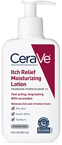 Lotion Anti Moisturizing Itch - CeraVe Itch Relief Moisturizing Lotion - 8 oz, Pack of 3
