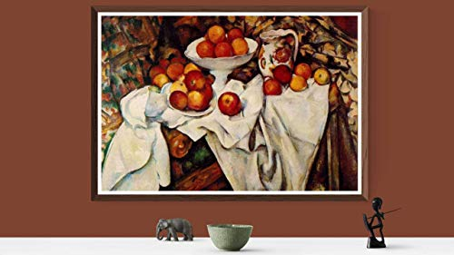 Apples Oranges Cezanne And - Paul Cezanne Apples and Oranges 1899 Vintage Lithograph