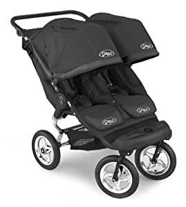 Baby Jogger City Elite Double Stroller Black Black Old