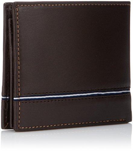 Nautica Men's Multi-Card Passcase Wallet,Brown,