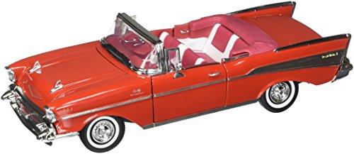 Motor Max 5376 1:18 American Classics 1957 Chevrolet Bel Air Convertible Diecast Vehicles