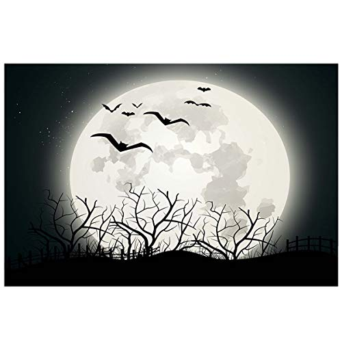 YOKOU Halloween Aquarium Background Sticker Wallpaper 20.4