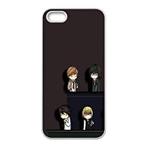 Death Note iPhone 5 5s Cell Phone Case White DIY Ornaments xxy002-9152109