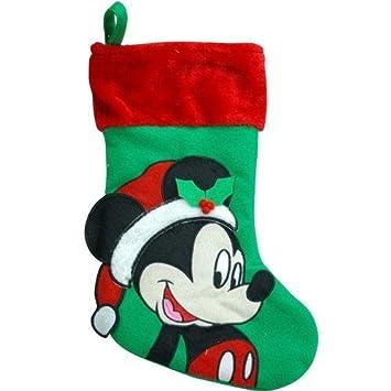 Amazon.com: Disney Mickey Mouse 18 Inch Big Face Stocking: Toys ...