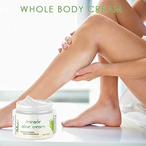 Miracle Vera Moisturizing Cream Face Body Moisturizer Care for for and 2 Pack