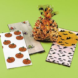 36 pc HALLOWEEN Cellophane goody bag -