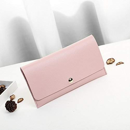Zip Lady Bag Pink Bag Women Girls Wallet Elegant ZOMUSA Women Clearance Long Wallet Messenger Purse Clutch xXZ67nPqwW