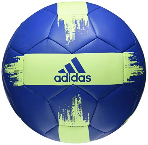 adidas EPP Glider Soccer Ball True Blue/Hi-Res Yellow, 4