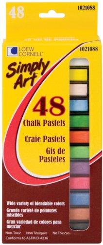 Simply Art Chalk Pastels 48/Pkg-48 Colors 1 pcs sku# 640649MA