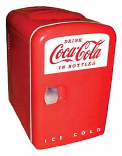 Koolatron Coca-Cola Personal 6-Can Mini Fridge