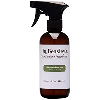 Dr. Beasley\'s Microsuede Protection - 12 oz, Preserves Look and Feel of Fabric, Instant Bonding Coating, 2+ Years of Protection: Automotive [5Bkhe0404346]