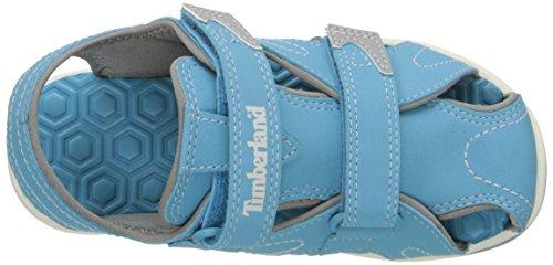 Timberland Adventure Seeker sandalias con punta cerrada (Toddler/Little Kid) Azul claro