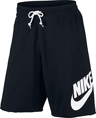 Logo White And Black (Nike Mens Sportswear Logo Shorts Black/White 836277-010 Size X-Large)