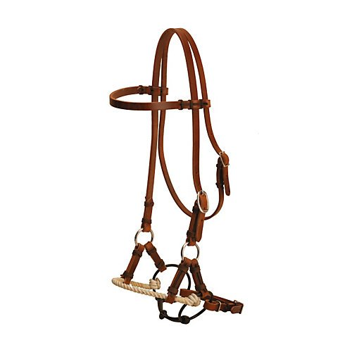 Tory Harness Leather Single Rope Half ()