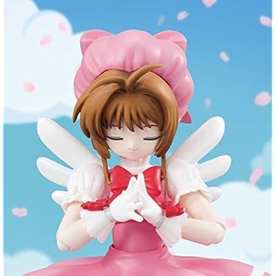 TAMASHII NATIONS Bandai S.H. Figuarts Kinomoto Sakura Cardcaptor Sakura Action Figure: Bandai Tamashii Nations: Toys & Games