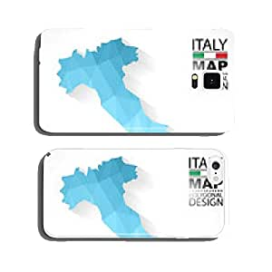 Italy map geometric polygonal vector cell phone cover case iPhone6 Plus