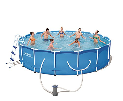 Steel Pro 15' x 42'' Frame Pool Set by Bestway