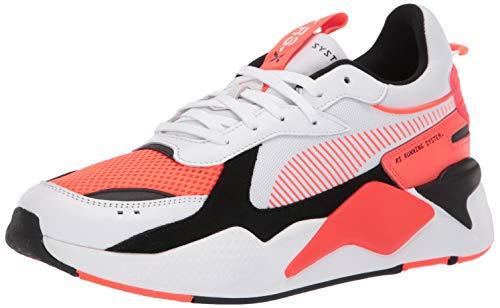 (PUMA Men's RS-X Sneaker White-red Blast, 13 M US)