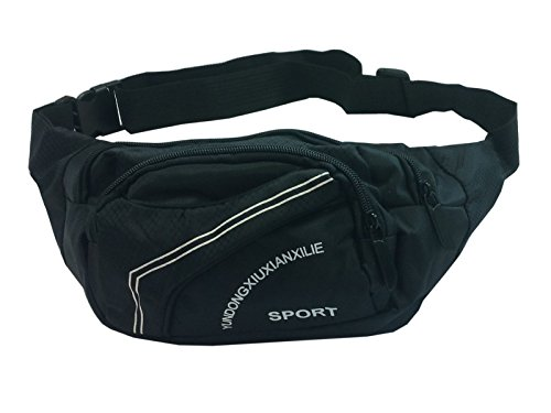 POSTEN 10 X Bauchtasche Gürteltasche Sport Hüfttasche, Waist Bag Fächer Tasche NEU
